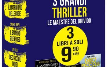 3 grandi thriller – Le maestre del brivido