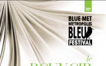 Carlo Lucarelli al Metropolis Bleu Met di Montreal