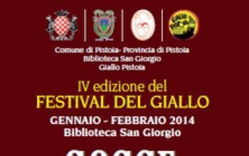Gocce scarlatte sul giallo - Festival del giallo a Pistoia