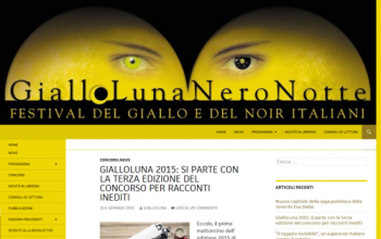 """""""GialloLuna NeroNotte"""". Premio letterario"""