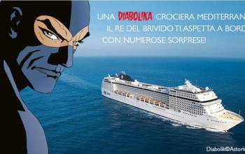 In crociera con Diabolik