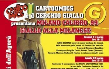 Giallo alla milanese a Cartoomics