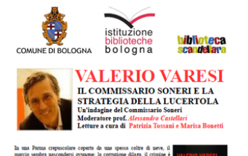 Valerio Varesi a Bologna