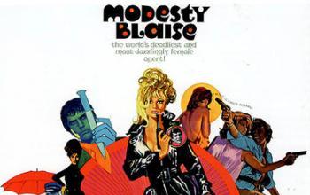 Spy Story a fumetti. Modesty Blaise