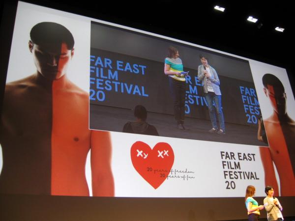 la regista Sung Hsin-yin al FEFF 20