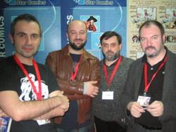 Giuseppe Di Bernardo, Daniele Statella, Mauro Smocovich e Carlo Lucarelli - Lucca Comics 2008