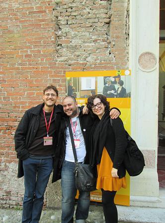 Davide Morosinotto, Andrea Pau Melis e Lucia Vaccarino