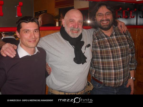 David Riva, Sergio Altieri, Fabrizio Vercelli