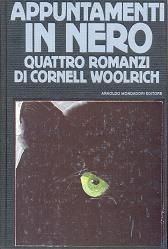 Omnibus della Mondadori che raccoglie i romanzi: Sipario nero, Alibi nero, L'angelo nero e Appuntamenti in nero