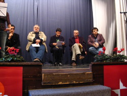 Sandro Toni, Stefano Tura, Andrea Cotti e  Gianni Biondillo