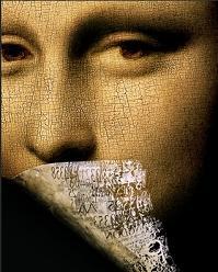 Un particolare dell'home page del sito del Codice Da Vinci