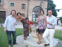 Simone Sarasso e Alessandra Marazzi a Villa Bottoni
