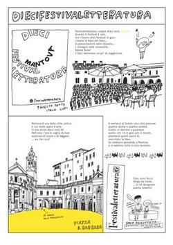 Una tavola del fumetto regalato da Yocci per i dieci anni della manifestazione