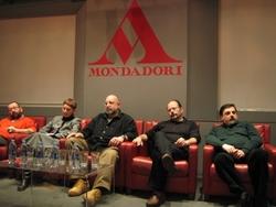 Mauro Zola, Ben Pastor, Sergio Altieri, Stefano Di Marino e Mauro Smocovich