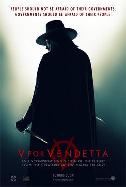 L'ultima versione del poster di W for Vendetta.