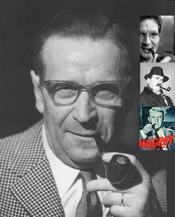 Georges Simenon, Maurizio Testa, Gino Cervi e Jean Gabin