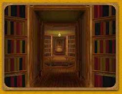 Biblioteca di Babele (raffigurazione)