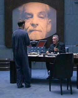 """Ritratto di Emmanuel Goldstein nel film """"1984"""""""