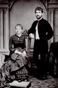 Leóš Janáček con la moglie
