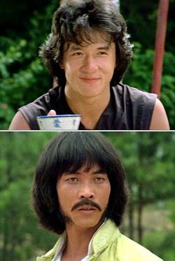 """Jackie Chan e il """"cattivo"""" Hwang Jang Lee"""