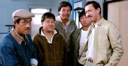 Da sinistra, Richard Ng, Eric Tsang, Charlie Chin, Samo Hung e Stanley Fung