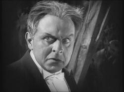Rudolf Klein-Rogge nel ruolo del dottor Mabuse