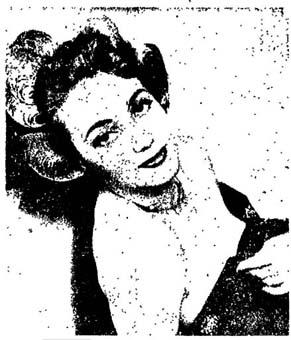 Nicole Riche in una foto apparsa su l'Unit