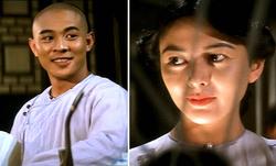 Gioco di sguardi fra Wong Fei-hung e Siu-kwan