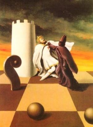 """""""Scacco matto"""" (1937) di Rene Magritte"""