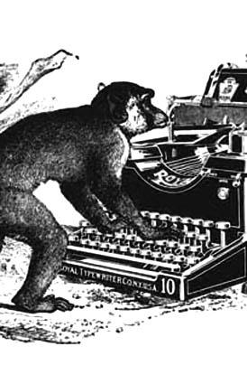 """""""Type_Apes"""" (particolare) di Francesco Sanesi"""