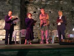 Giuseppe Previti, Susanna Daniele, Serge Quadruppani e Leonardo Gori
