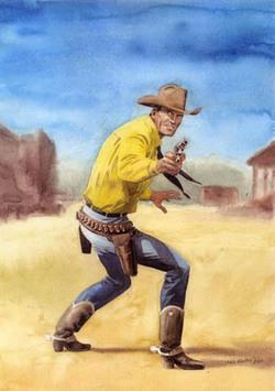 Tex disegnato da Fabio Civitelli