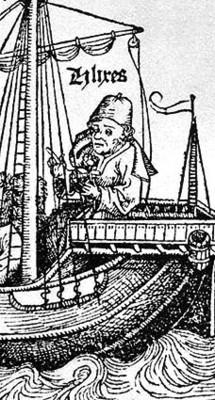 Ulisse nell'interpretazione di Michael Wolgemut nel 1493 (particolare)