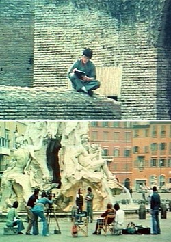 "Bruce Le (Ho Cung Tao) nelle stesse location di Lee nel film ""Bruce Lee Supercampione"""