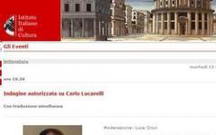 Indagine non autorizzata su Carlo Lucarelli