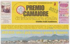 Il giornale del Premio Camaiore di letteratura Gialla