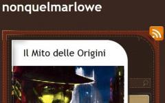 Il mio nome è Marlowe. No, non quel Marlowe