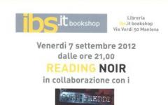 Reading Noir al Festival di Mantova