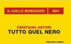 Cristiana Astori e tutto il suo nero