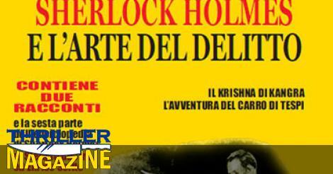 Editoria: Sherlock Holmes e l'arte del delitto