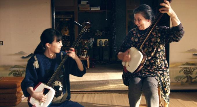 Komai Ren e Yoko Nishikawa in una scena del film