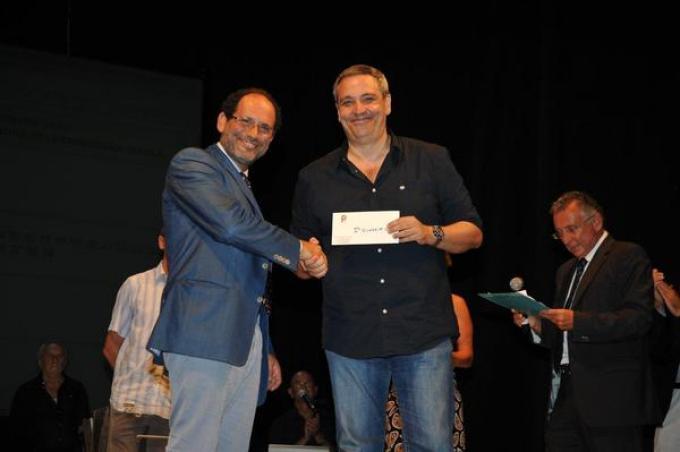 Il procuratore aggiunto di Palermo Antonio Ingroia con Maurizio Di Giovanni