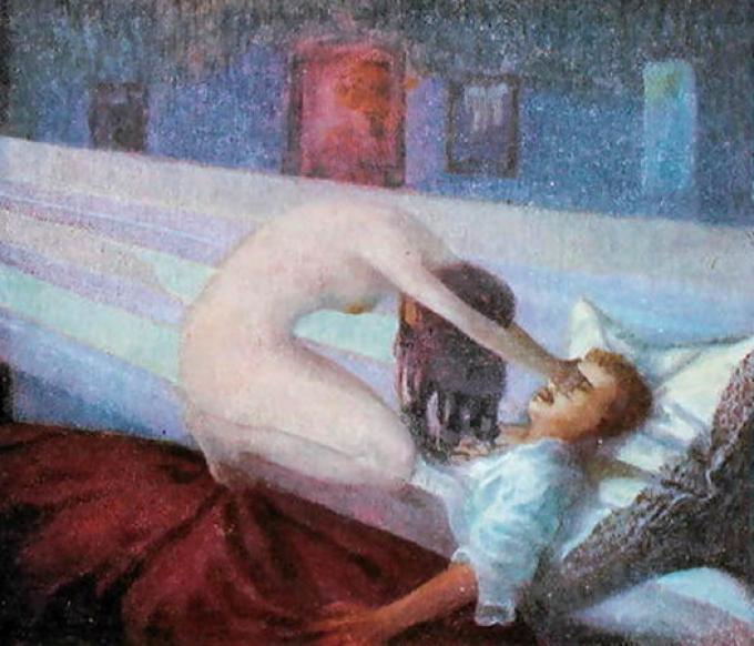 """""""The Nightmare"""" (1910) di E. Turbacky"""