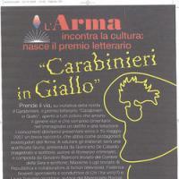 Premio Carabinieri in Giallo 2009